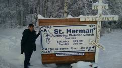 St Herman's Orthodox Church North Pole Alaska